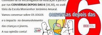 Os Jogos: convite para uma conversa depois das 6