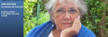 Cristina Carvalho: encontro com os alunos da EB Abade de Mouçós